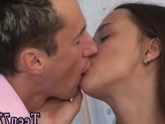 Male teen cum shot video Victoria gets a facial and enjoys it