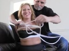 Crystal Frost in Bondage