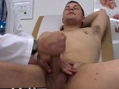 Gay porn videos hotel orgies I had him hope back onto the exam table and