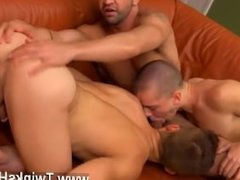 Uncut blond hairy chested young gay boys Dominic works their eager