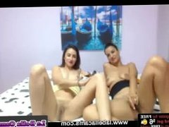 Desire and Her Girlfriend's Webcam Show