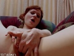 Cute Young Teen Fucking Her Pink Pussy With A Dildo