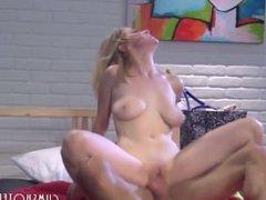 Hot College Slut Fucked At The Dorm