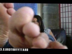 Foot fetish POV, JOI