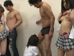 Japanese Pop Idols Orgy