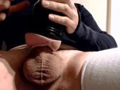 My solo come 11 (fleshlight fuck)