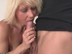 Lovely old blonde From LOOK4MILF.COM takes it from behind