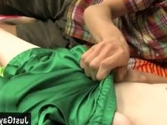 Black gay hairless twink sex photo blogs Chad gets drilled for the first