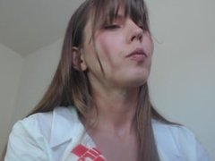 SPH dr Amber rubber band edging appointment POV femdom