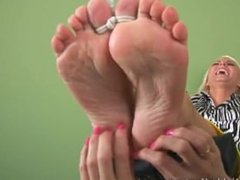 Sandra Tied and Tickled 03