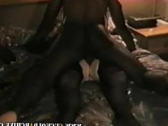 From LOOK4MILF.COM Cuckold Archive sissy husband tapes his wife with black