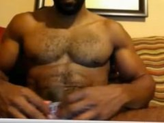new sexy black muscular amateur web cam