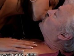 Young girl and old girl fucking in jungle Bruce a messy old dude enjoys