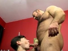 Delicious fem gay porn The desperate tiny twink gets on his knees to suck