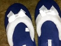 sleeping wife feet slippers rough heels