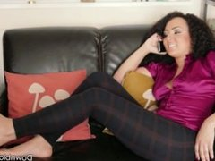 Feet Up - trailer - sexy tanned feet on couch