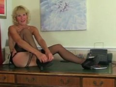 Britishs Penny and Molly From LOCALMILF.INFO love being your secretary