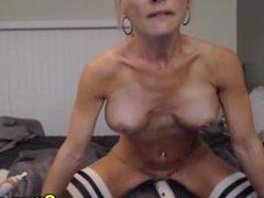 Blonde Babe Get Strip and Masturbate on Cam
