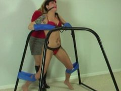 Tickle Erotic - Gwen Pierce, Taped and Tickled