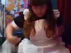 chub in maid outfit strips and bates - My Date on BBW-CDATE.COM