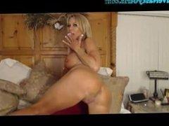 Big Titty Milf In High Heels Dildos To Orgasm