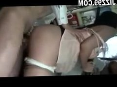 Japanese wife affair stranger in bus front husband