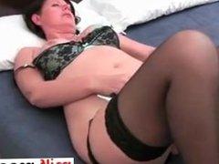 British mum Janey fucks her hairy pussy - Fuck me at MILF-MEET.COM