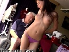 Young boy and older guy Horny senior Bruce catches sight of a nice woman