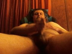 cumming in my new chair