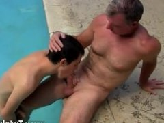 Gays hairy anal porn movies Brett Anderson is one fortunate daddy, he's