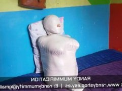 Extreme Mummified Indonesian Girl 008 - Clip