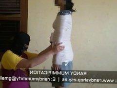 Mummified Indonesian School Girl 017 - Clip
