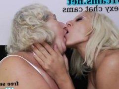Fat granny fucked by skinny lesbian girl 101cams.net/lorena