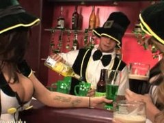 Amy Brooke, Brandy Taylor & Lexi Belle in Saint Patricks Day Orgy