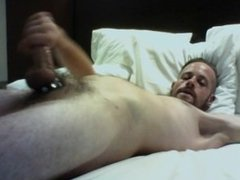 Jacking with Double Big Shots of Cum and Eating It After