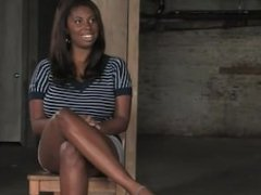 Candace Von - Black Bondage Girl with huge Boobs