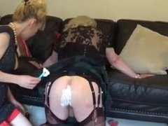 Madame C From LOOK4MILF.COM shaves slut Angelica_s ass