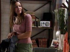 Ana Rujas en lencería en la serie Con el culo al aire