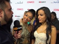 PornhubTV Layla Sin & Skin Diamond Red Carpet 2015 AVN Interviews