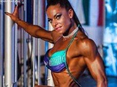 Gabi sexy muscle photoshoot
