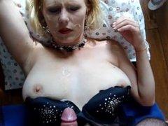 From LOOK4MILF.COM HUGE Facial BIG TIT pornstar Clayra Beau a whore