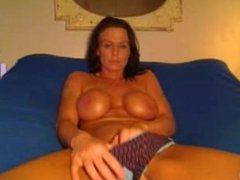Wild Brunette milf from LOOK4MILF.COM Toys On Cam