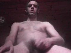 CUM SHOWER IN FRONT AT THE WINDOW - EURO AMATEUR SOLO MALE