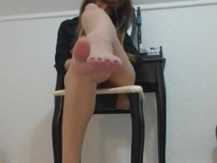 Rebbecasnowshoe Lick feet webcam chaturbate