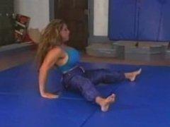 FBB wrestling - Charlene vs Sheena
