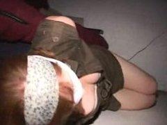 Mary Jane hogtied gagged and blindfolded