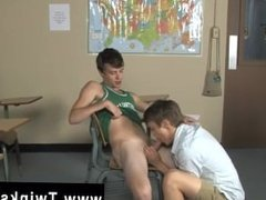 Teen boy sex gay emo photo Ashton Rush and Brice Carson are at school