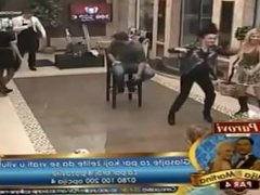 Reality Brazilian Big Brother - Dirty dance sex simulation publicly in pool