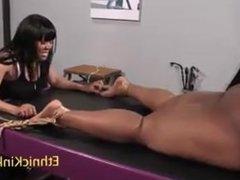 Ebony Tickle Bongage