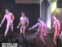 Hung Hunks Swinging Cocks Male Strippers Show